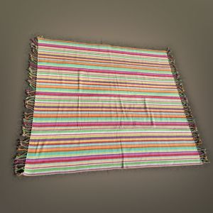 Multistripe XXL Beach Blanket/Rug