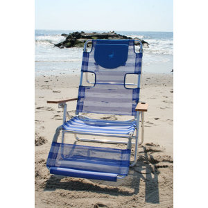 OSTRICH 3IN1 -ALUMINIUM BEACH LOUNGER- STRIPE