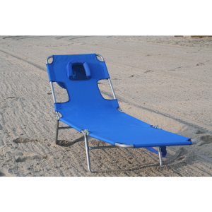 OSTRICH BEACH/POOL CHAISE LOUNGER - BLUE