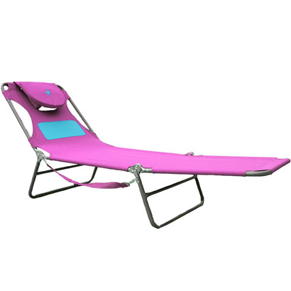 OSTRICH LADIES CHAISE LOUNGER - PINK