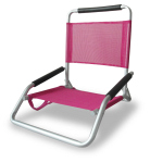 OSTRICH ALUM LOW SAND /CONCERT CHAIR - PINK