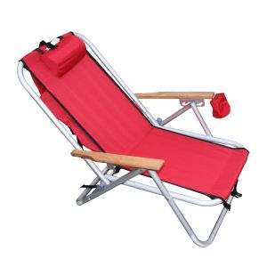 WEAREVER ALUMINIUM BACKPAK CHAIR - RED