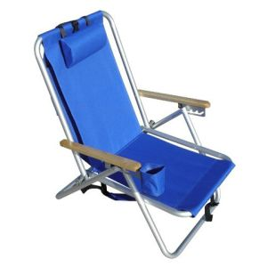 WEAREVER ALUMINIUM BACKPACK CHAIR - ROYAL