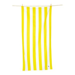 Dock and Bay XL Microfibre Beach Towel - BORACAY YELLOW