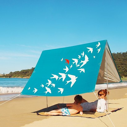 SOMBRILLA MOANA BEACH SHADE - FLY AWAY BLUE