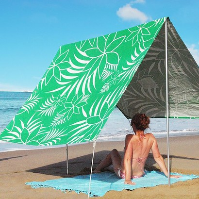 SOMBRILLA MOANA BEACH SHADE - LEAF GREEN