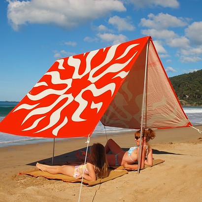 SOMBRILLA MOANA BEACH SHADE - LOVE'N SUN ORANGE